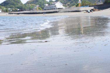海を眺めて、ゆっくりとした時間を。 「竜の浜」