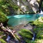 ニコ淵はもう古い?!秘境!エメラルドブルーの神秘なる滝壺。「三樽権現の滝」