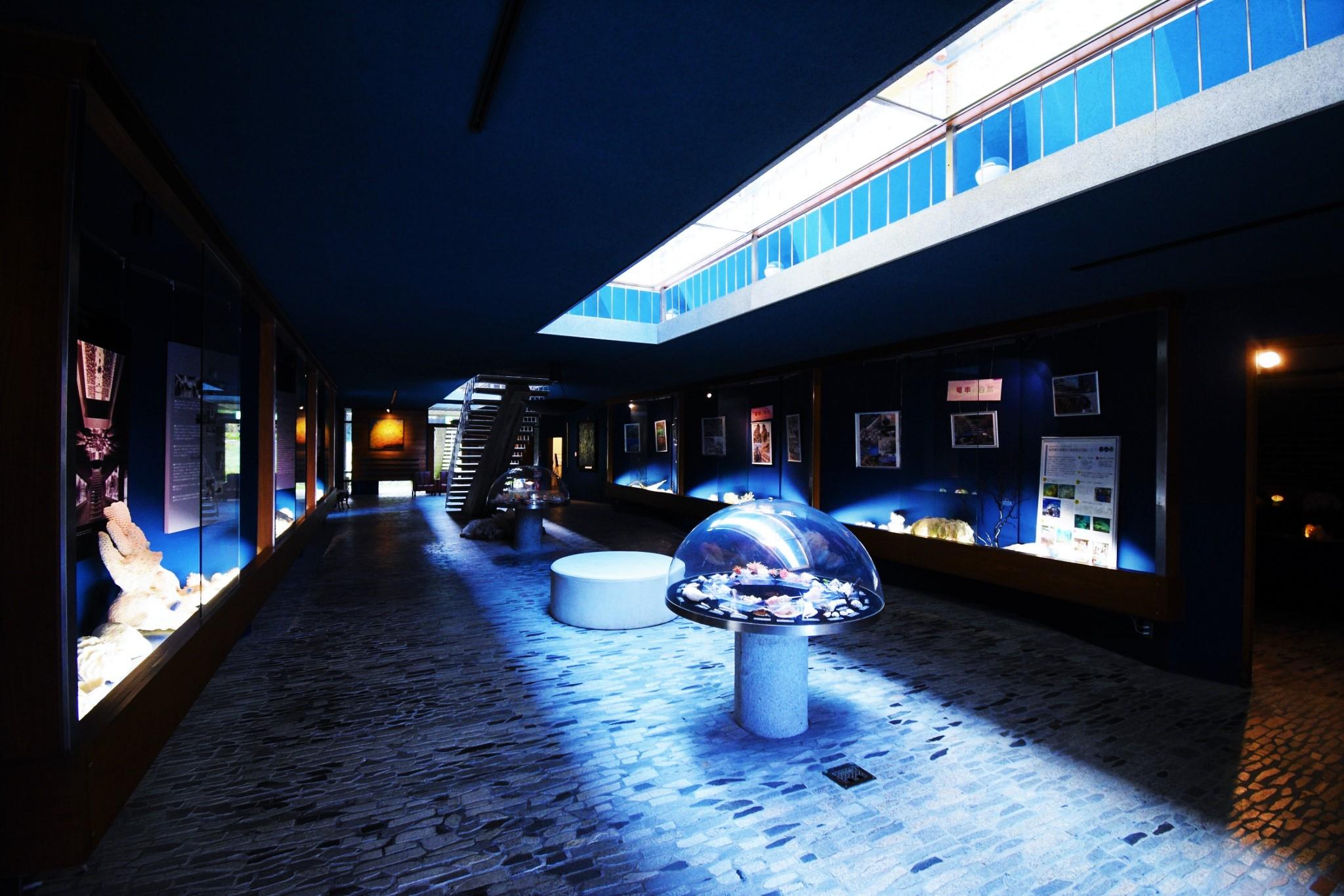 まさに海の博物館!深海の披露宴を心行くまで。「海のギャラリー」
