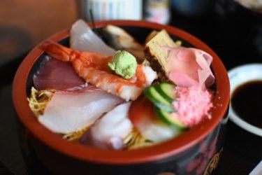 【活魚レストラン藤】新鮮!大盛り!豪華!海鮮丼