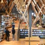 常識破りのユニーク図書館!組み木が織りなす非日常空間「ゆすはら雲の上の図書館」