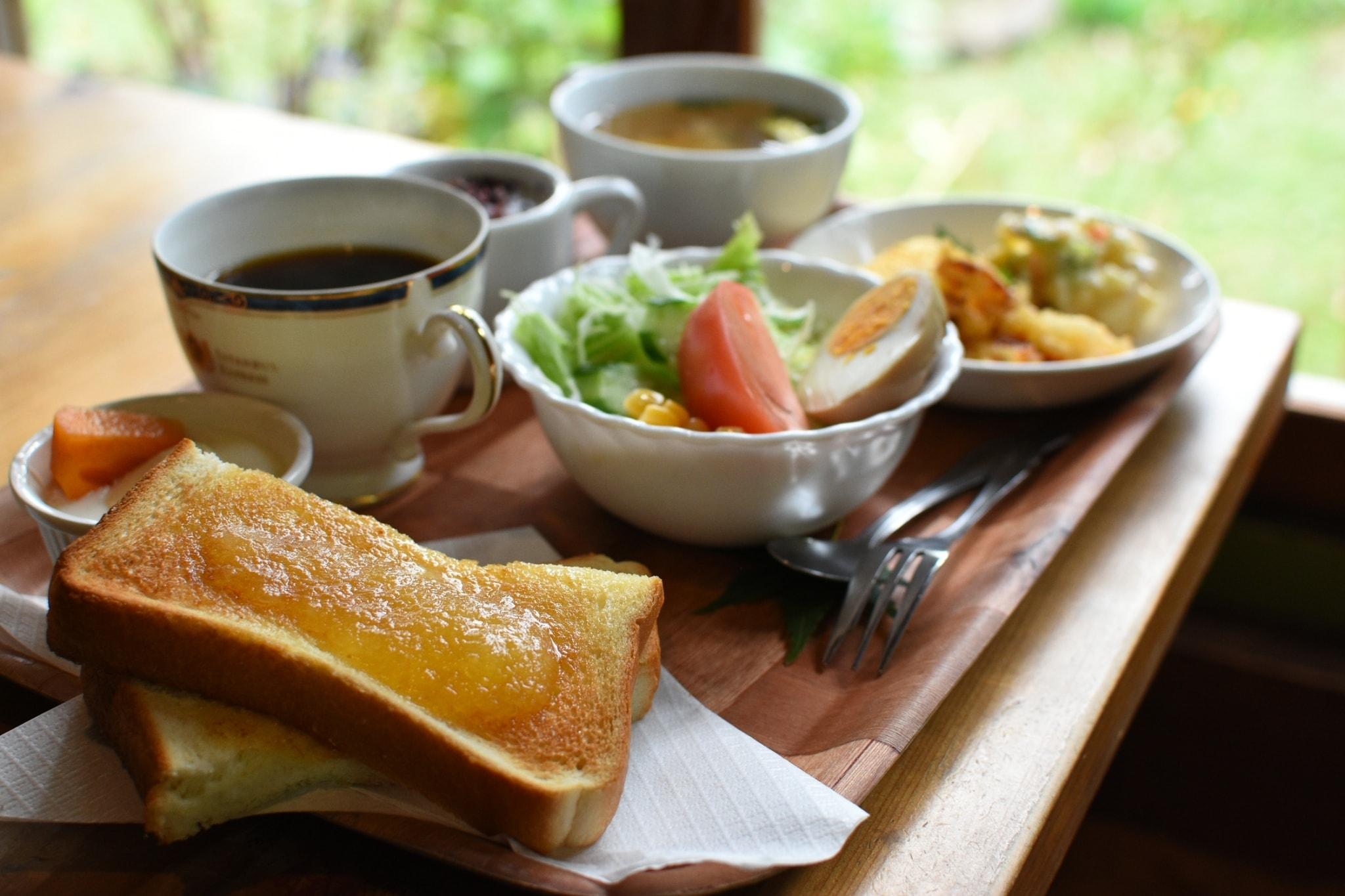 【リトルガーデン庭園喫茶】発掘!秘密の花園モーニング!