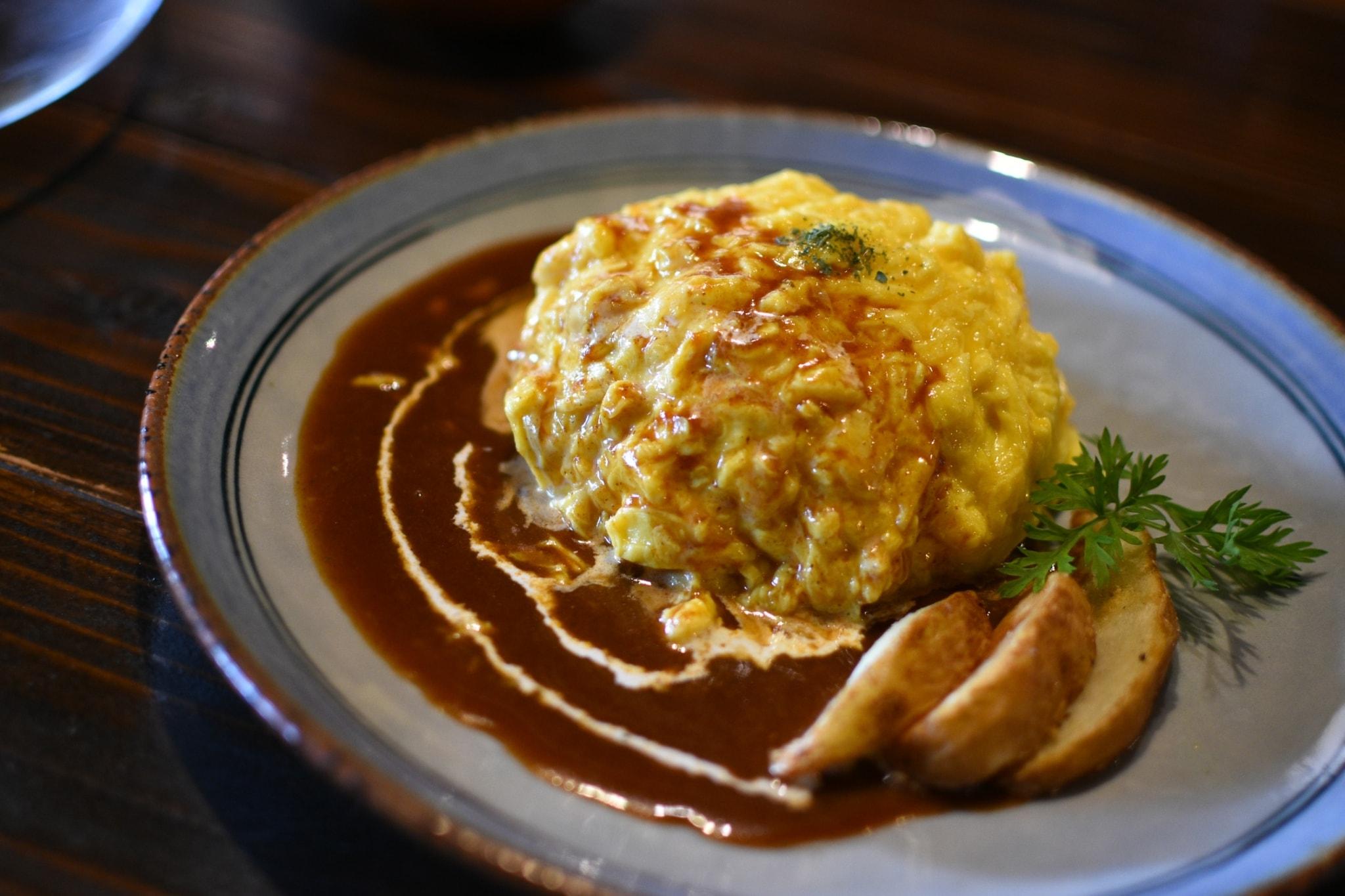 【オーチョ】ビバ古民家カフェ!こだわり卵の本格オムライス!