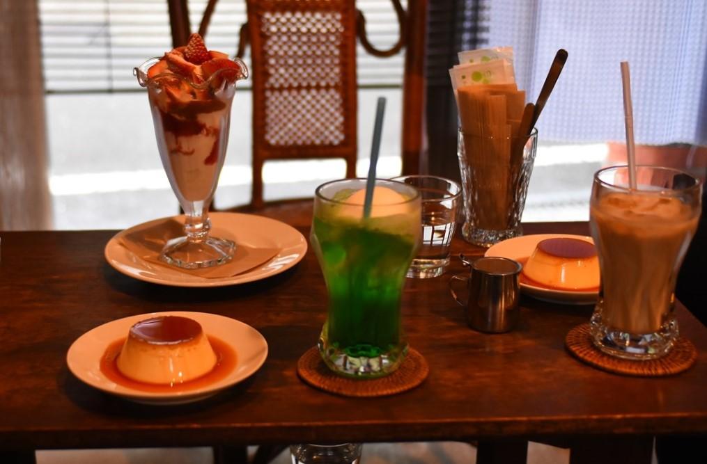 【日曜社】噂のプリンが今熱い!オシャレなレトロカフェ。