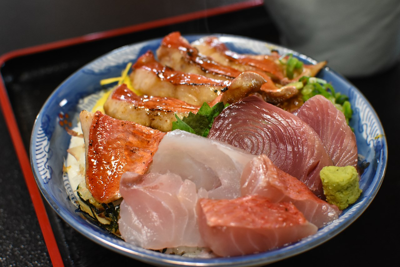 【料亭花月】豪華絢爛!室戸名物キンメ丼と言えばここ!