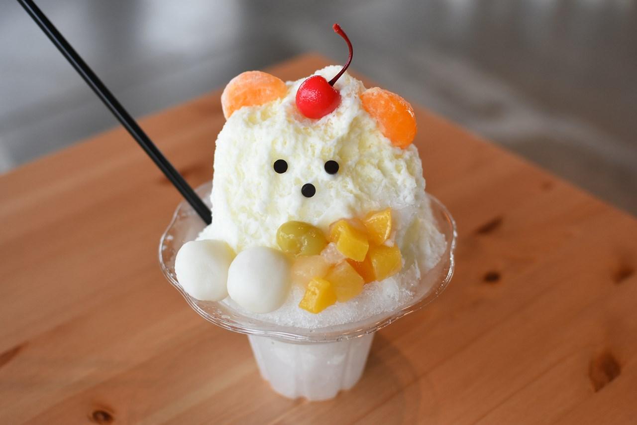【天然色市場】しろくまのかき氷がおいしくて可愛すぎる!!